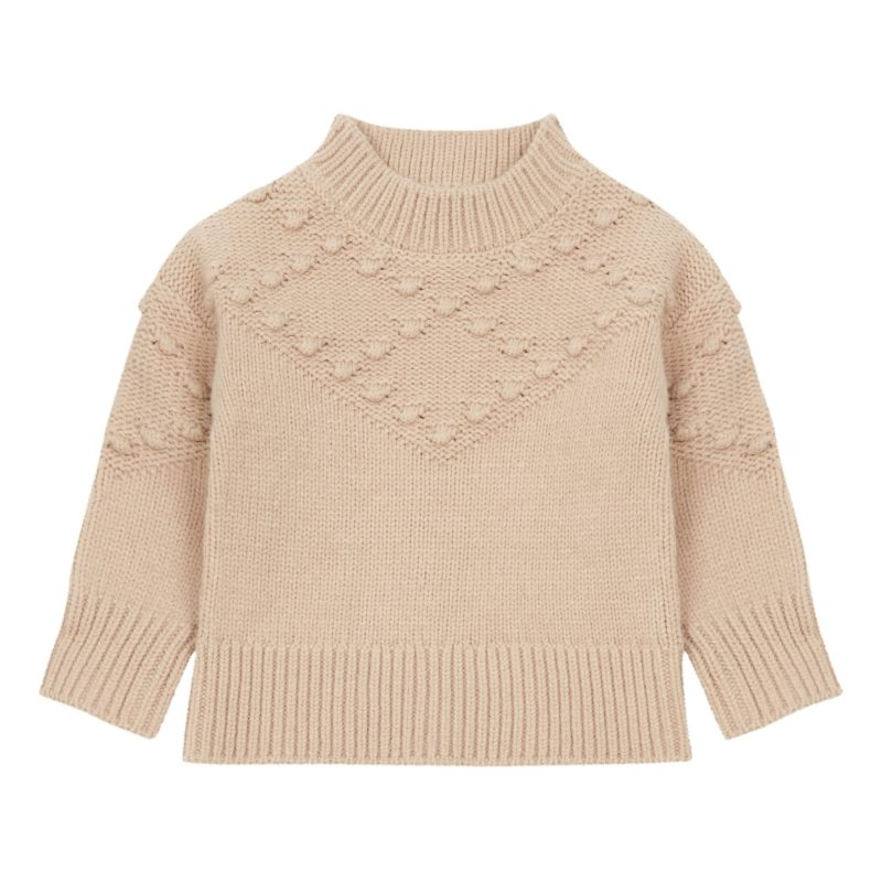 bobble-knit-jumper