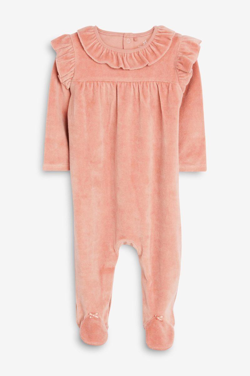pink-velour-frill-collar-babygrow