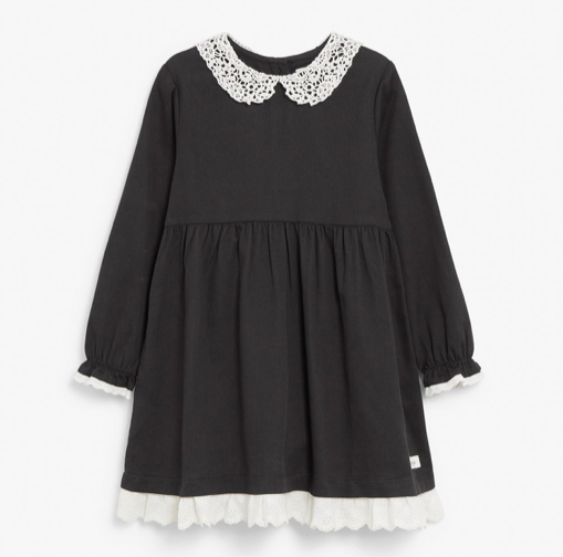 black-peter-pan-collar-dress