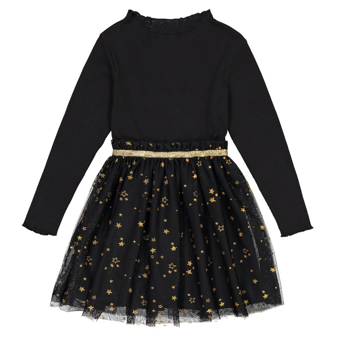 black-star-tulle-party-dress