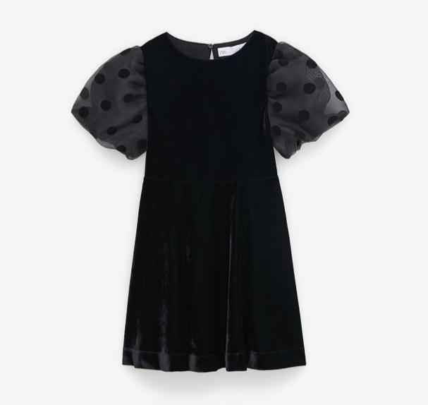 black-velvet-organza-dress