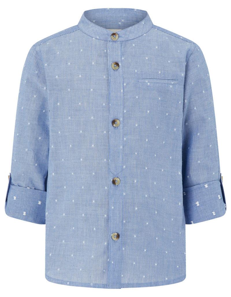 boys-blue-grandad-print-shirt