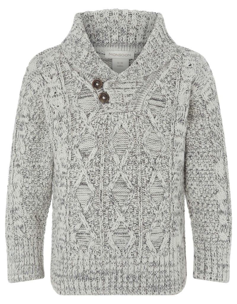 boys-grey-cable-knit-jumper