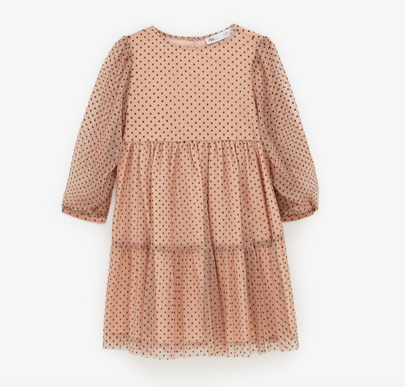 dotted-mesh-dress