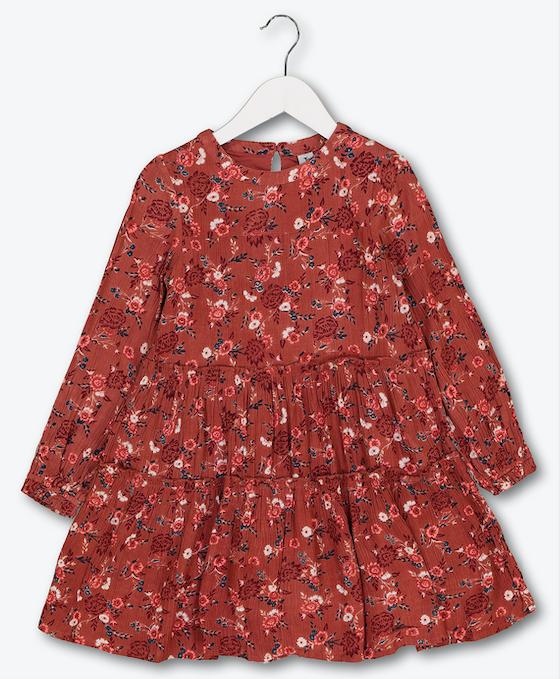 floral-crinkle-dress