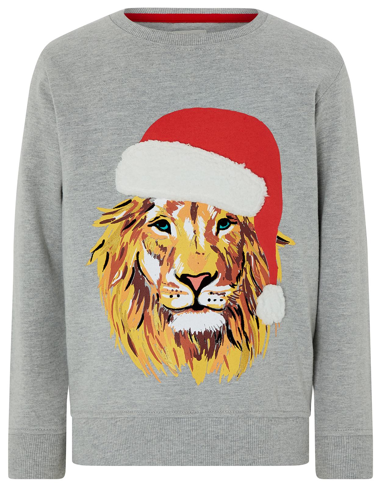 kids-lion-stylish-christmas-jumper