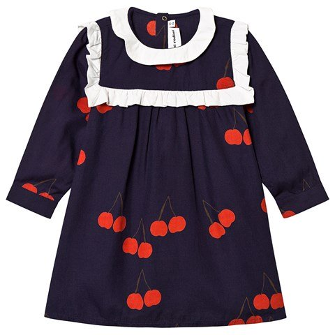 navy-cherry-print-frill-dress