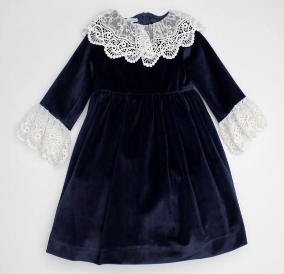 navy-velvet-lace-collar-dress