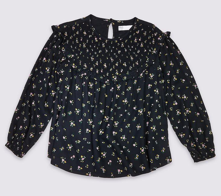 black-ditsy-floral-blouse