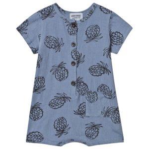 Blue pineapple playsuit