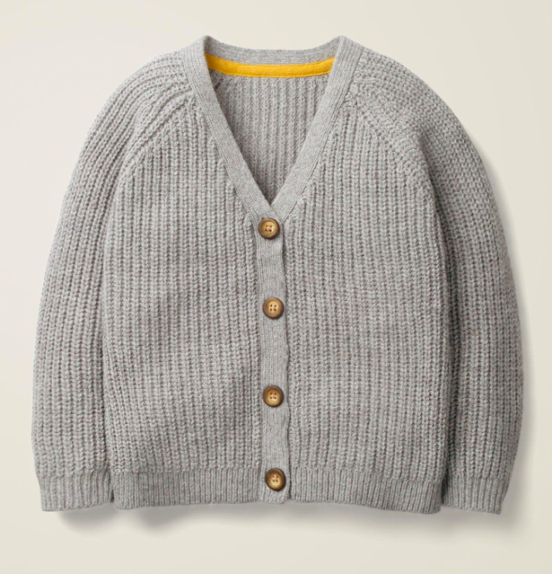 chunky-knit-grey-cardigan