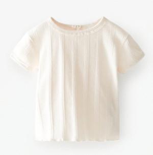 Pointelle t-shirt
