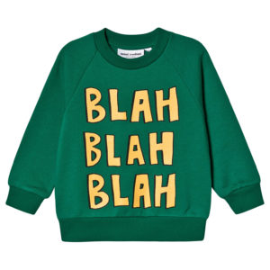 Green blah sweatshirt