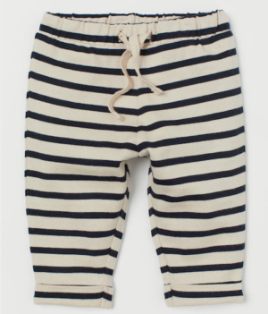 Stripe baby trousers