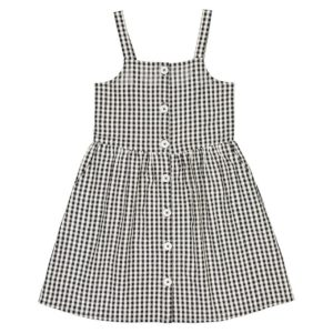 Checked cotton sundress