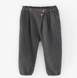 black crepe trousers