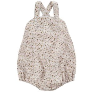 ditsy floral baby romper