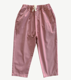 Rose pink relaxed pants