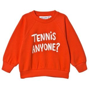 red tennis sweatshirt