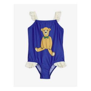 Blue teddy bear swimsuit