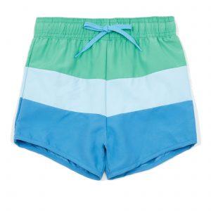Boys colour block swim shorts