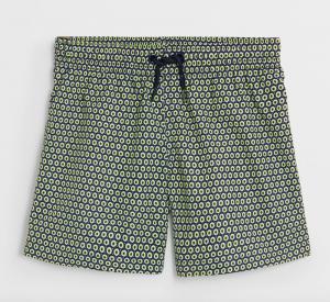 Boys geo print swim shorts