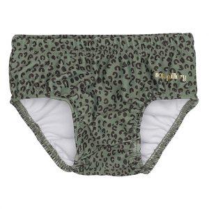 Leopard print baby swim pants