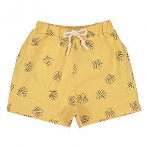 Boys mustard swim shorts
