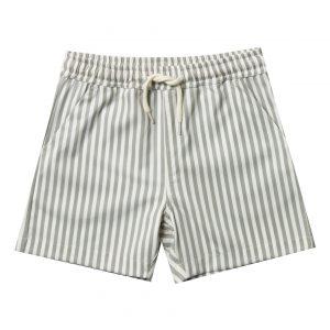 Boys oliver striped swim shorts