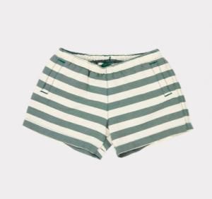 Striped baby swim shorts