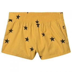 Yellow star swim shorts