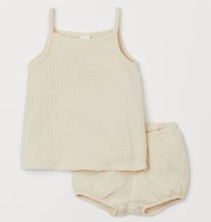 2 piece cotton baby set