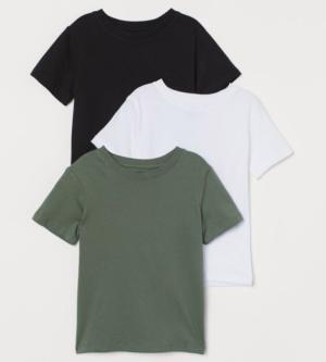3 pack boys t-shirts