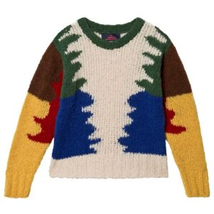 Multicolour knit jumper