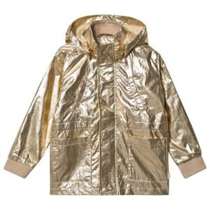 Gold kids jacket