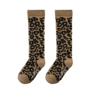 Leopard print socks