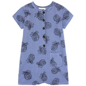 Blue pineapple playsuit