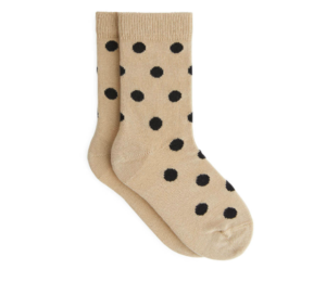 Polka dot kids socks