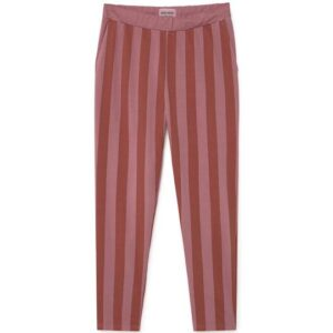 Red striped jogging bottoms