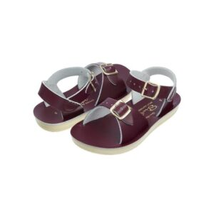 Surfer sandals in Claret