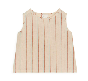Woven baby tank top