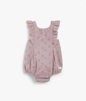 Baby broderie anglaise romper
