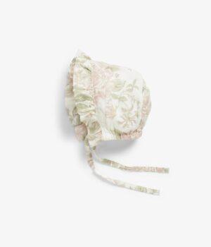 Baby floral summer bonnet