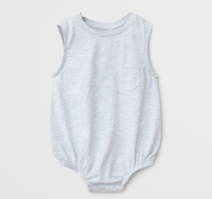 Organic cotton bodysuit