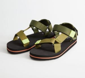 Khaki boys sandals