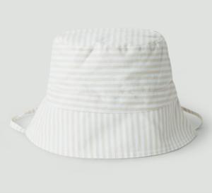 Striped baby bucket hat