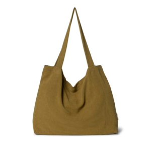 Khaki mom bag