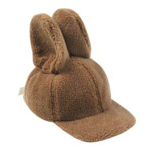 Fleece bunny cap