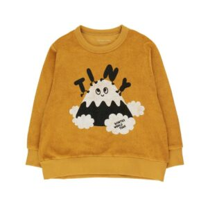Mustard terry sweatshirt