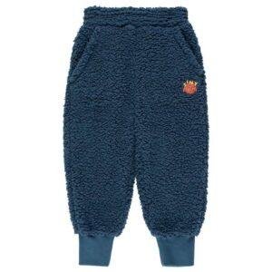 Navy sherpa pants